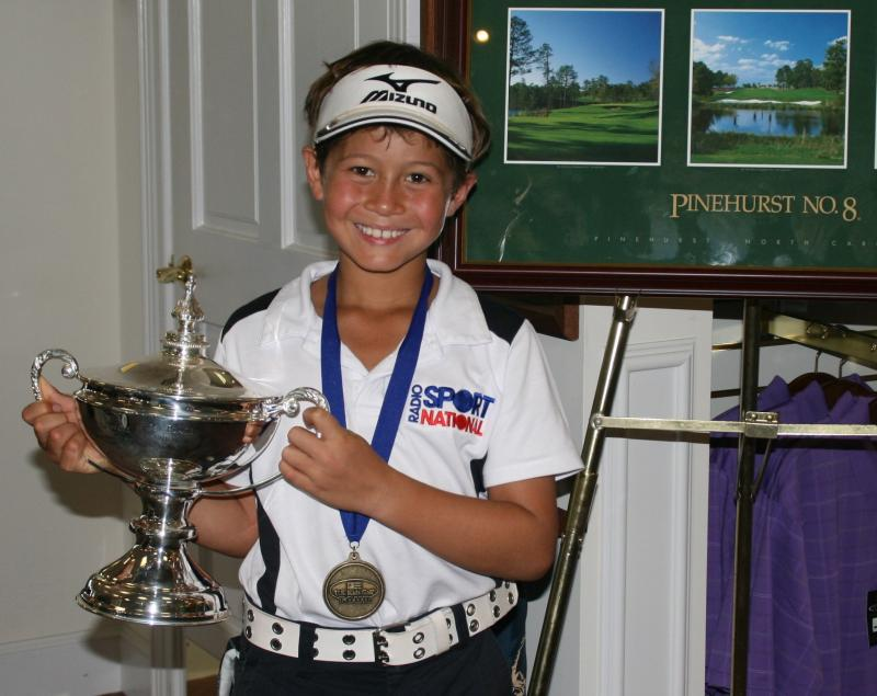 Karl with the 2011 US Kids Trophy