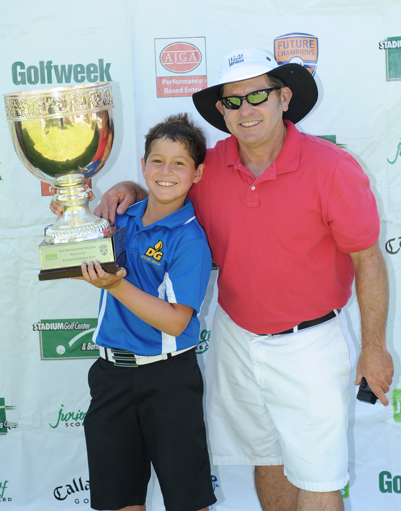 2012 San Diego Junior Masters Trophy