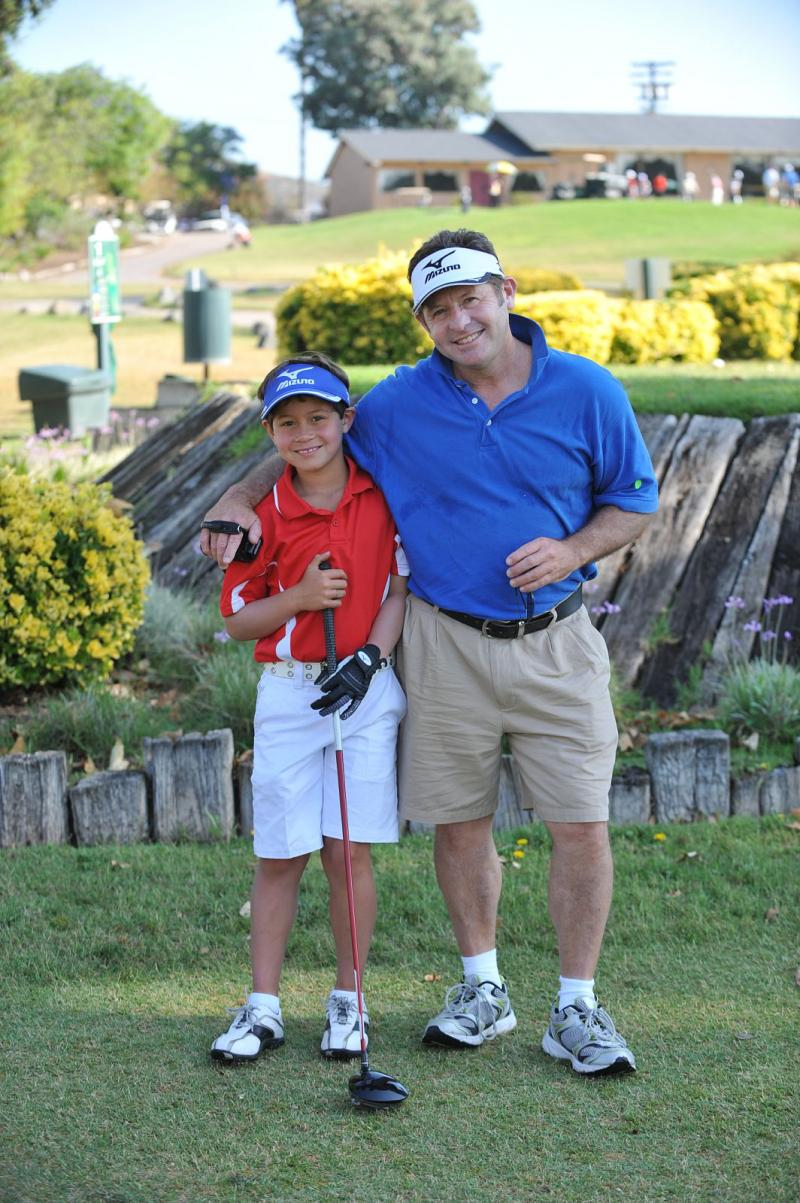 Karl & Dad @ San Diego Junior Masters