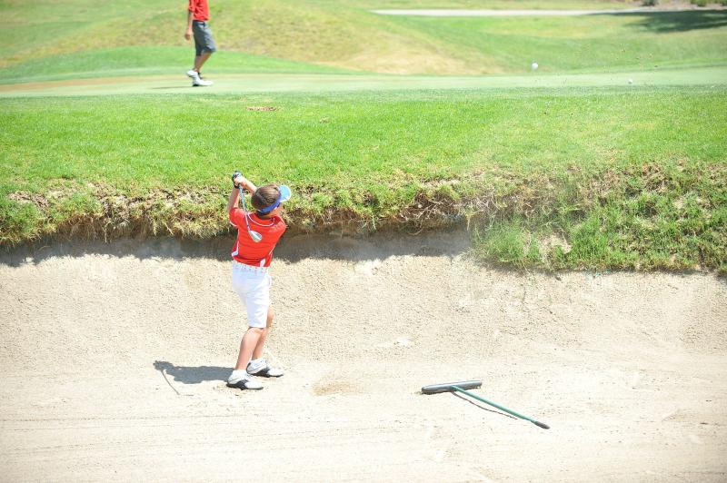 Bunker Sand Save @ San Diego Junior Masters