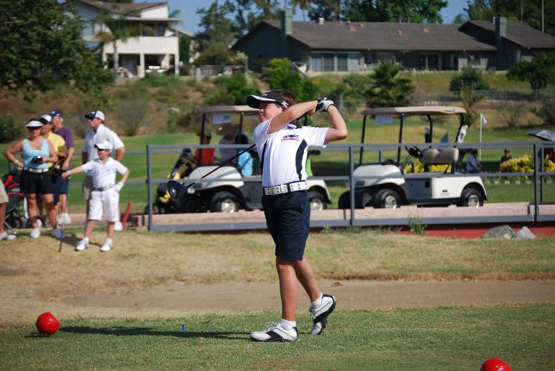Karl at 2011 San Diego Junior Masters